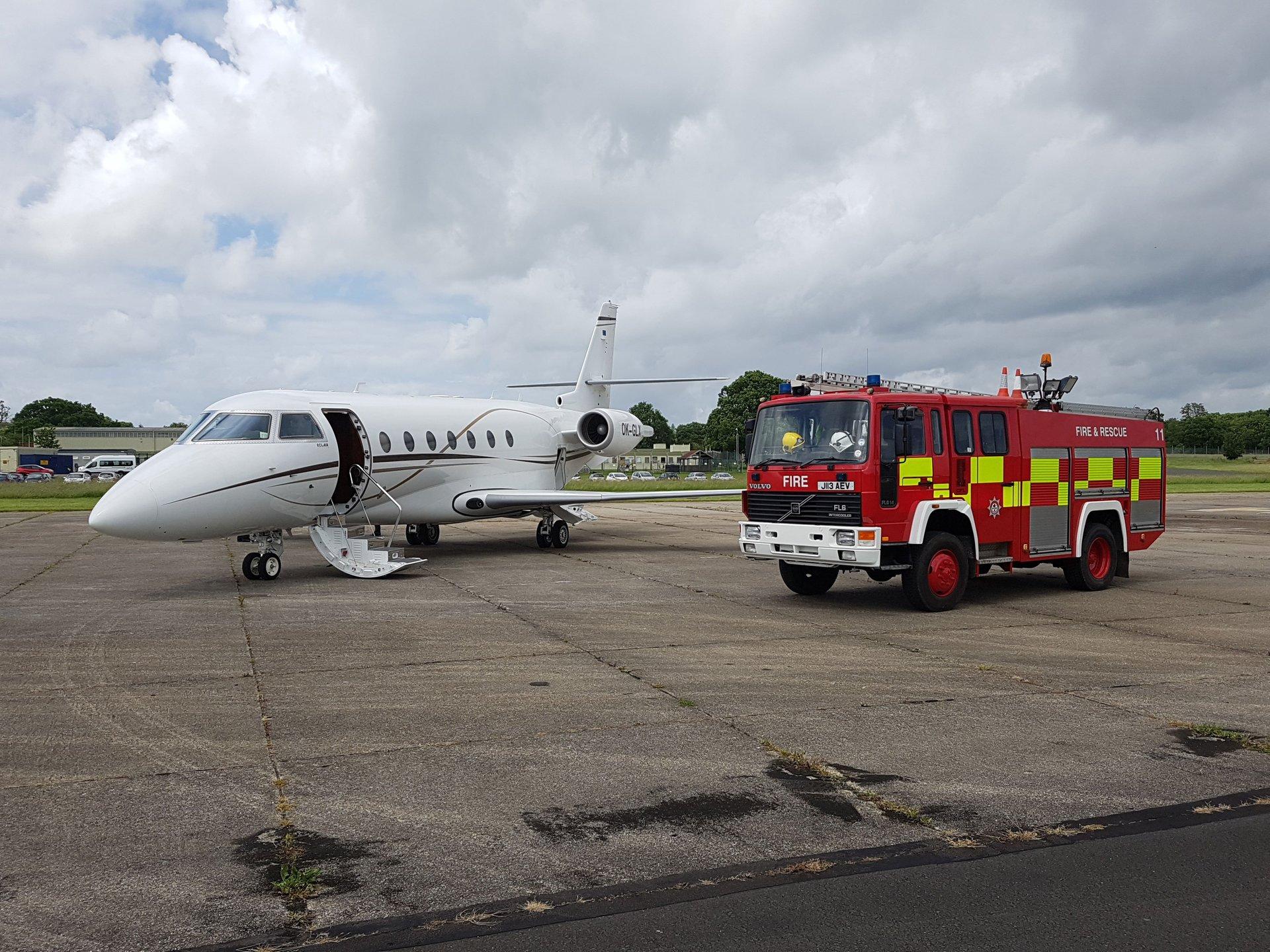 fire cover plane