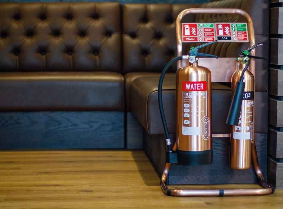 fire extinguisher bronze